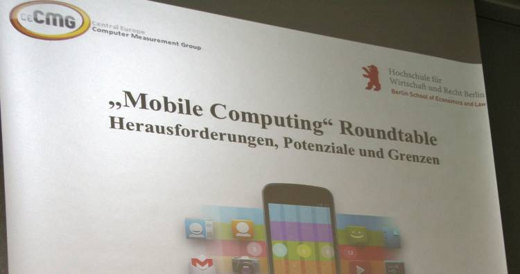 Mobile Computing Roundtable auf der Enterprise Computing Conference 2015